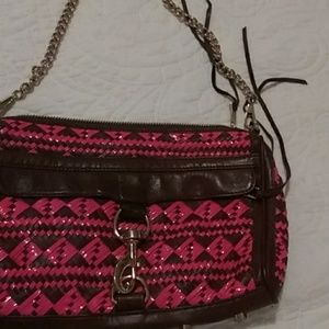Cross body bag from Rebecca Minkoff in Brown and P